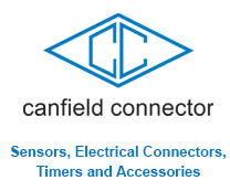 Canfield Connector: Sensors, Electrical Connectors, Timers & Accessories