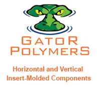 Gator Polymers: Horizontal & Vertical Insert-Molded Components